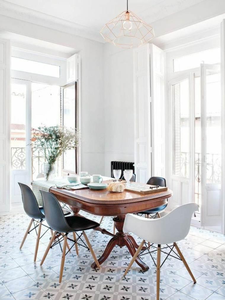 Decoracion estilo nordico luz textura y naturaleza for Comedor diseno