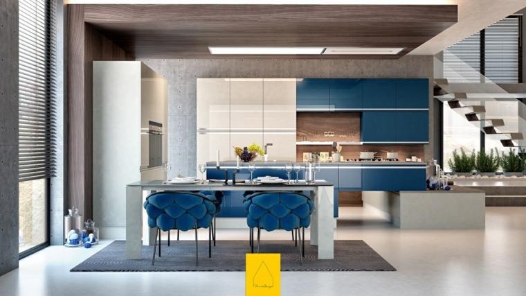 Cocinas de dise o moderno 50 modelos alucinantes for Studio design sillas