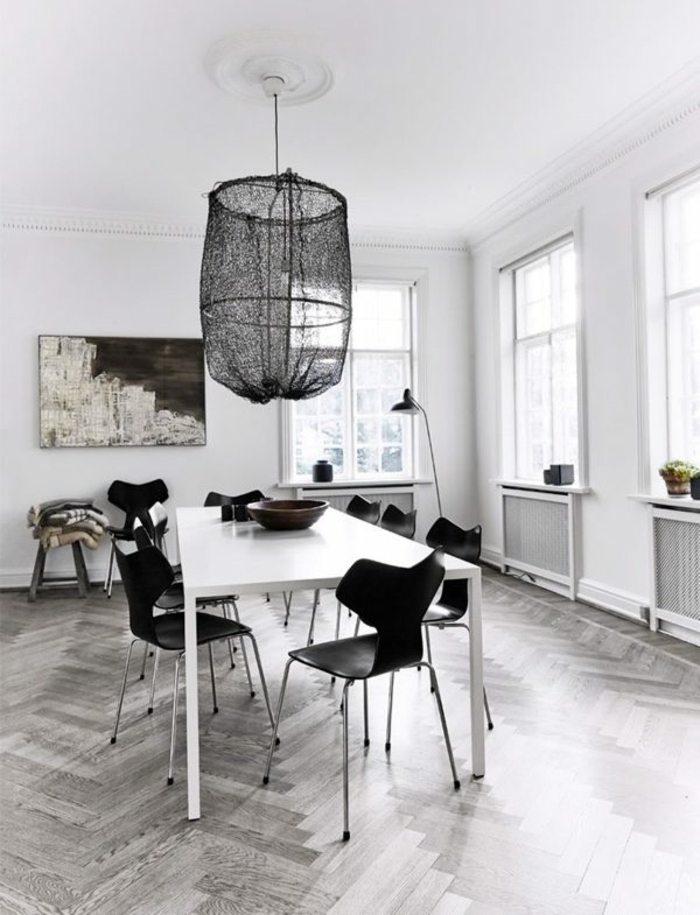 sillas de comedor color negro