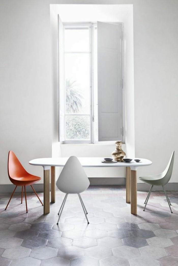 sillas de estilo escandinavo modernas