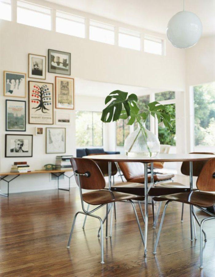 sillas estilo moderno de madera
