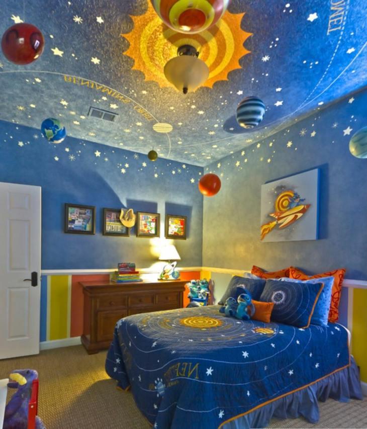 sistema solar detalles colores planetas