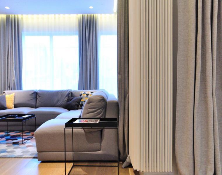 sofa esquina color gris
