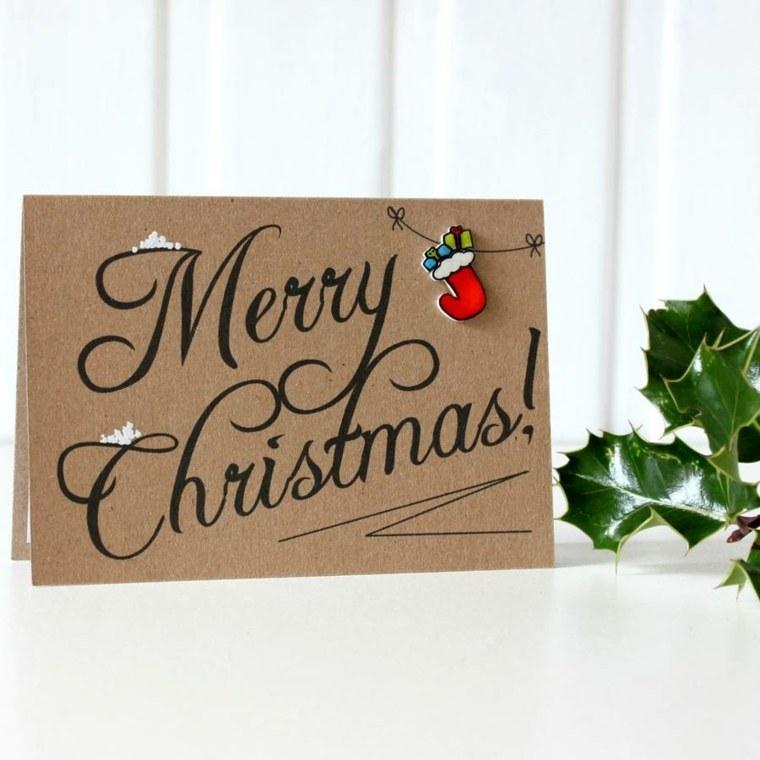 tarjetas de navidad casa