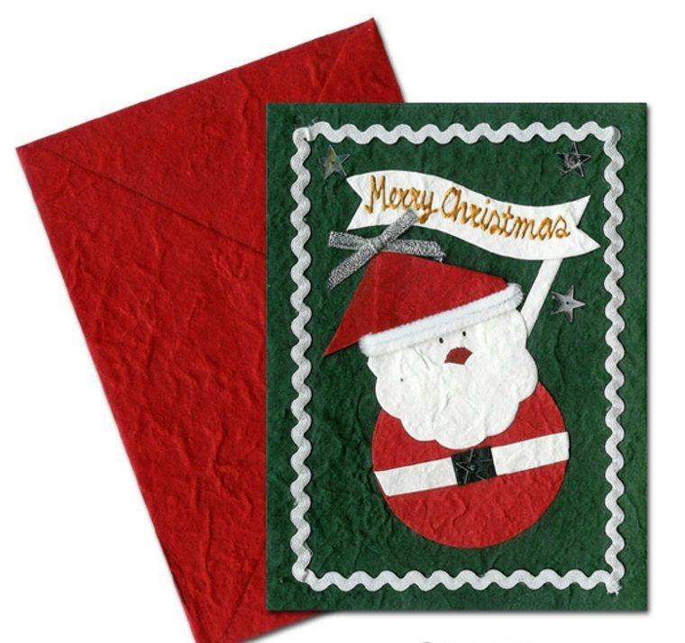Tarjetas de navidad Manualidades para casa