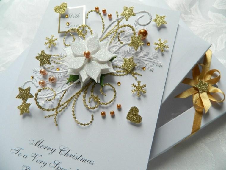 Tarjetas de navidad manualidades para casa - Tarjetas de navidad elegantes ...