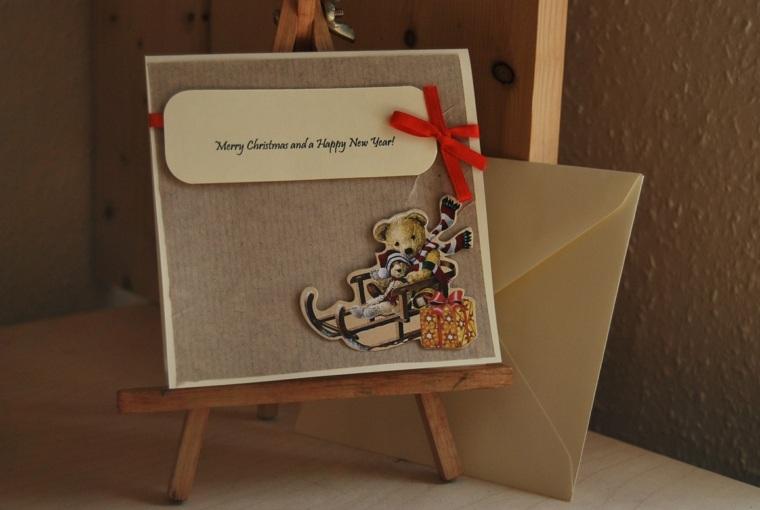 Tarjetas de navidad manualidades para casa for Decoracion de casas hechas a mano