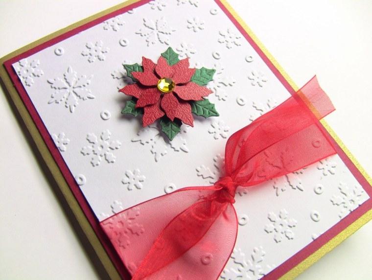 Tarjetas de navidad manualidades para casa for Crear tarjetas de navidad