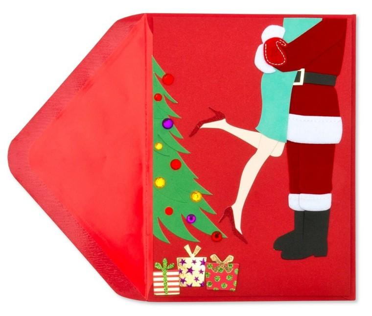 Tarjetas de navidad manualidades para casa - Como hacer una tarjeta de navidad original ...