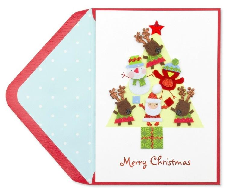 Tarjetas de navidad manualidades para casa - Postales de navidad para hacer con ninos ...