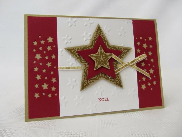 tarjetas para navidad hacer casa