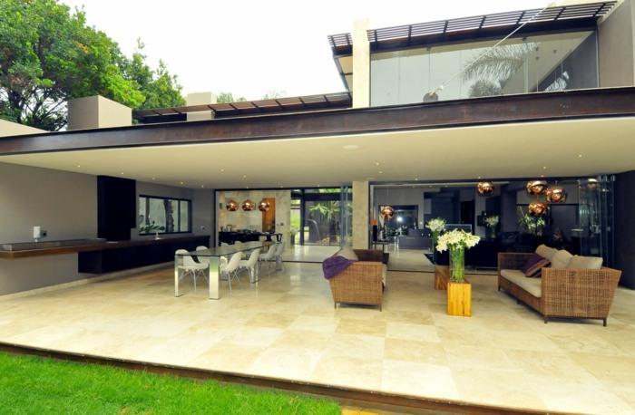 terrazas con encanto elegante cubiert paredes