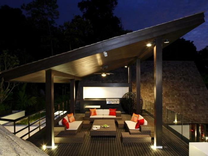 terrazas con encanto iluminacion especial diseo