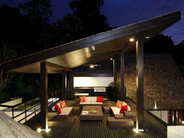 terrazas con encanto iluminacion especial diseño
