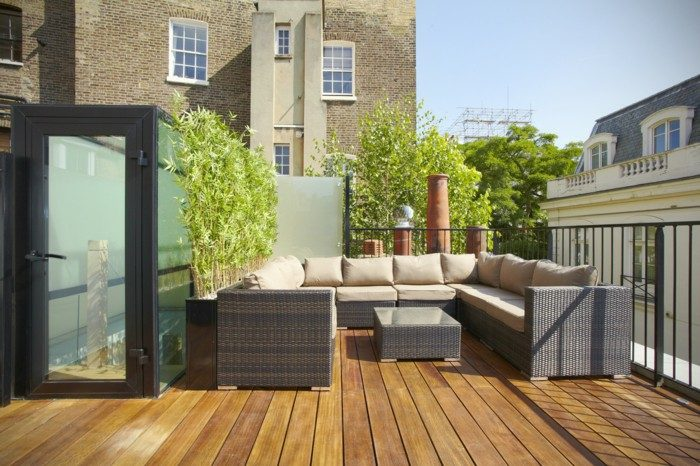 terrazas con encanto salon exteriores puertas