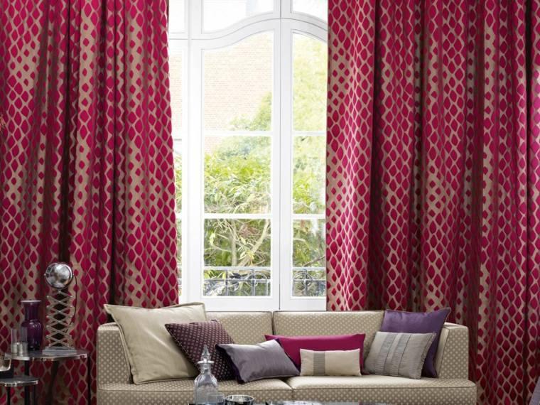 Tipos de cortinas soluciones originales para la ventana - Tipos de cortinas ...
