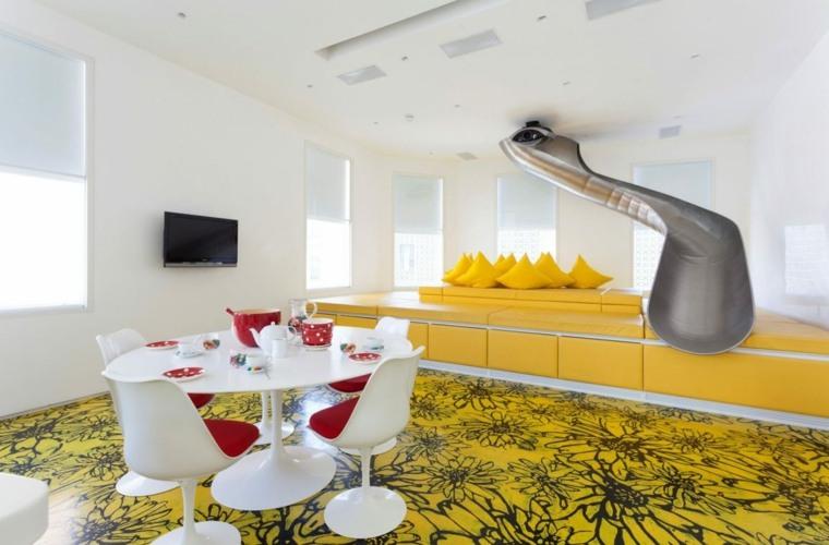 toboganes interior casa diseno moderno opciones ideas