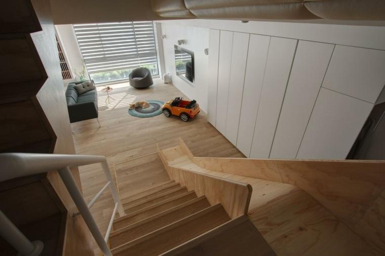 toboganes madera espcio amplio moderno diseno ideas