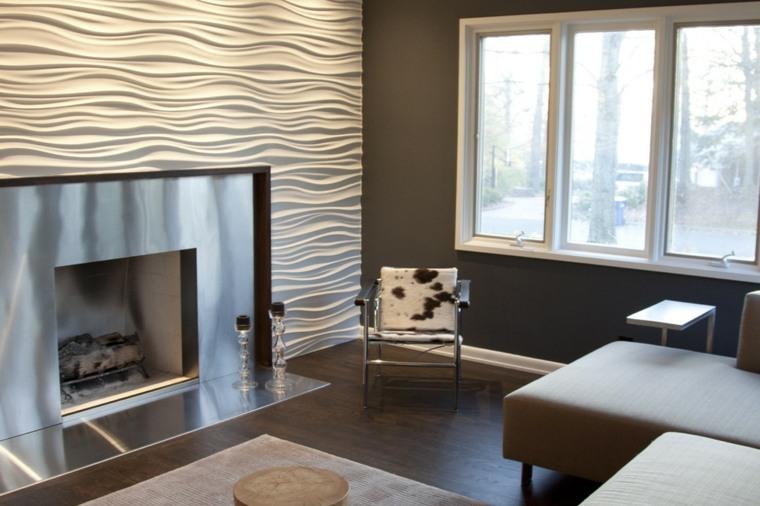 Decorar paredes dise o moderno para acentuar espacios - Paredes lacadas ...