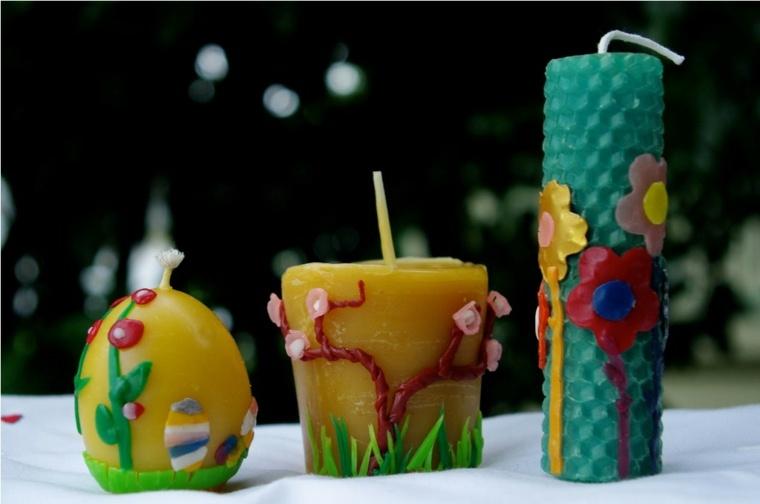 velas decoradas interior