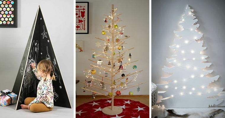 Rboles de navidad curiosos y modernos que no hab as visto - Arboles navidad modernos ...