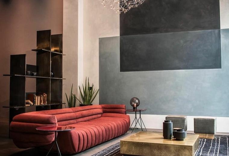 muebles de diseño salon: muebles salon diseño deco de interiores ... - Muebles Salon Diseno Italiano