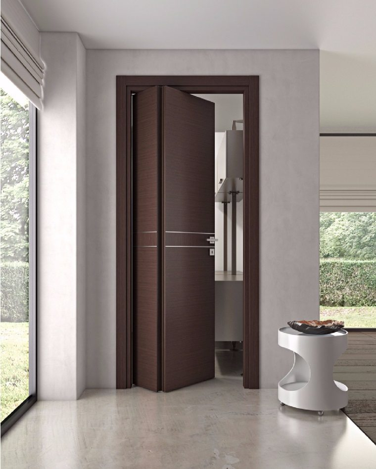 Puertas de interior modernas el estilo entra en casa for Modelos de puerta de madera para casa