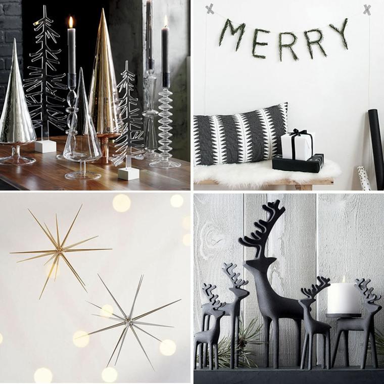 decoracion navideña moderna hogar