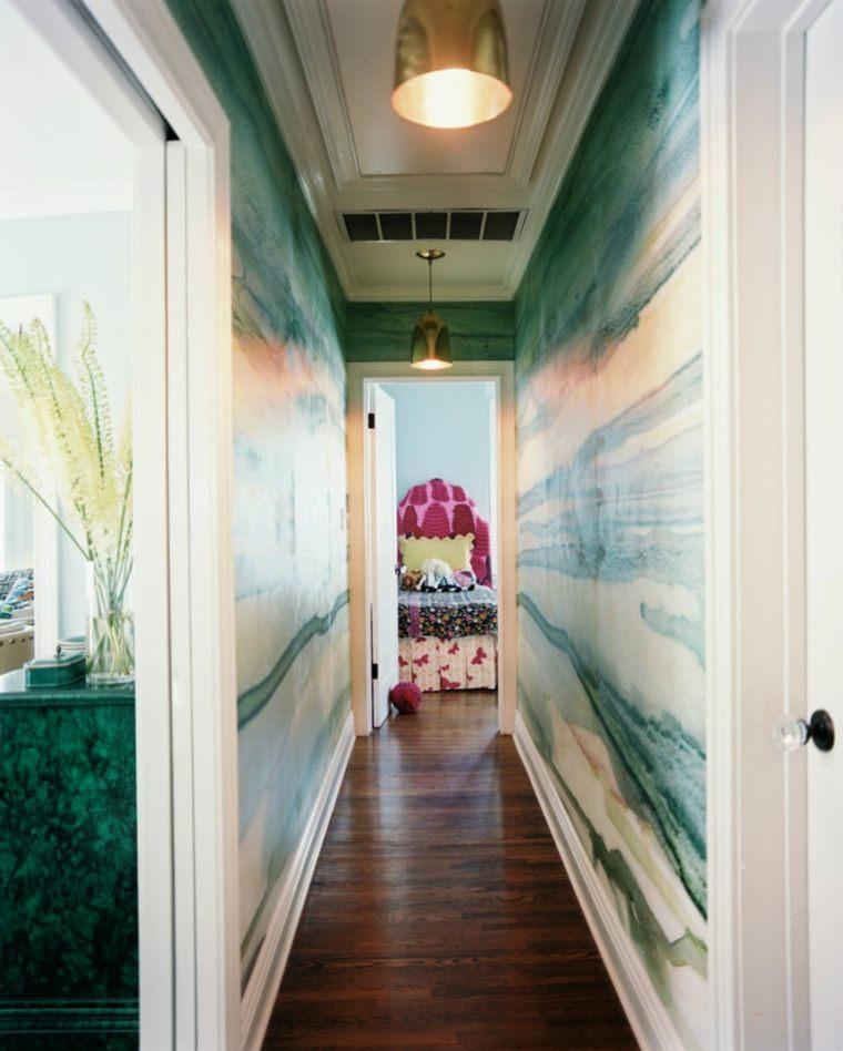 decoracion pasillos diseno moderno