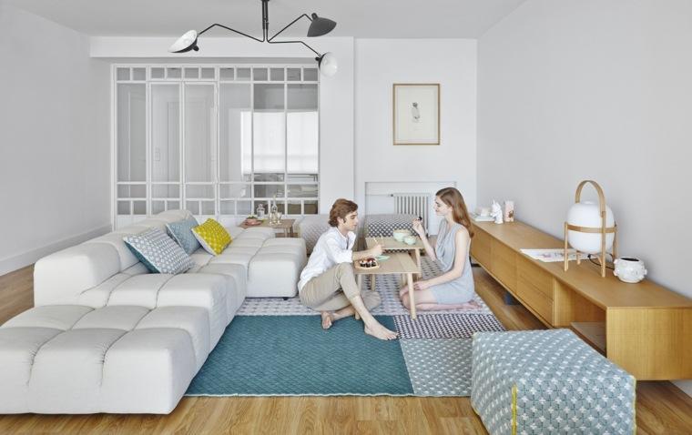 decoración muebles salón gandia blasco coleccion silai alfombras poof ideas