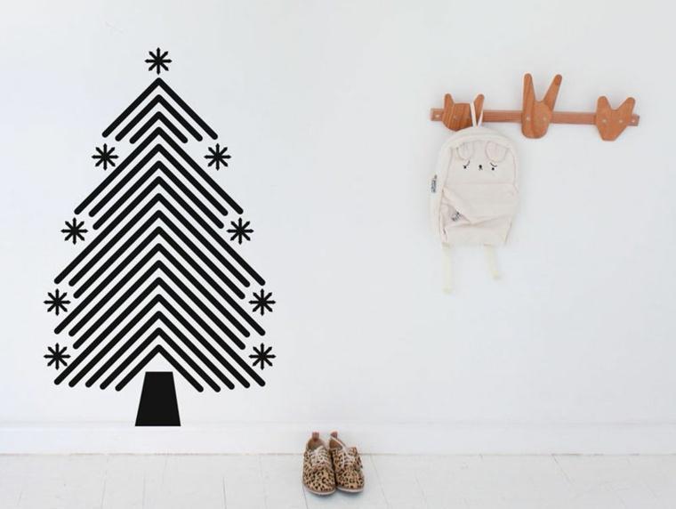 abeto navideño pegatinas vinilo