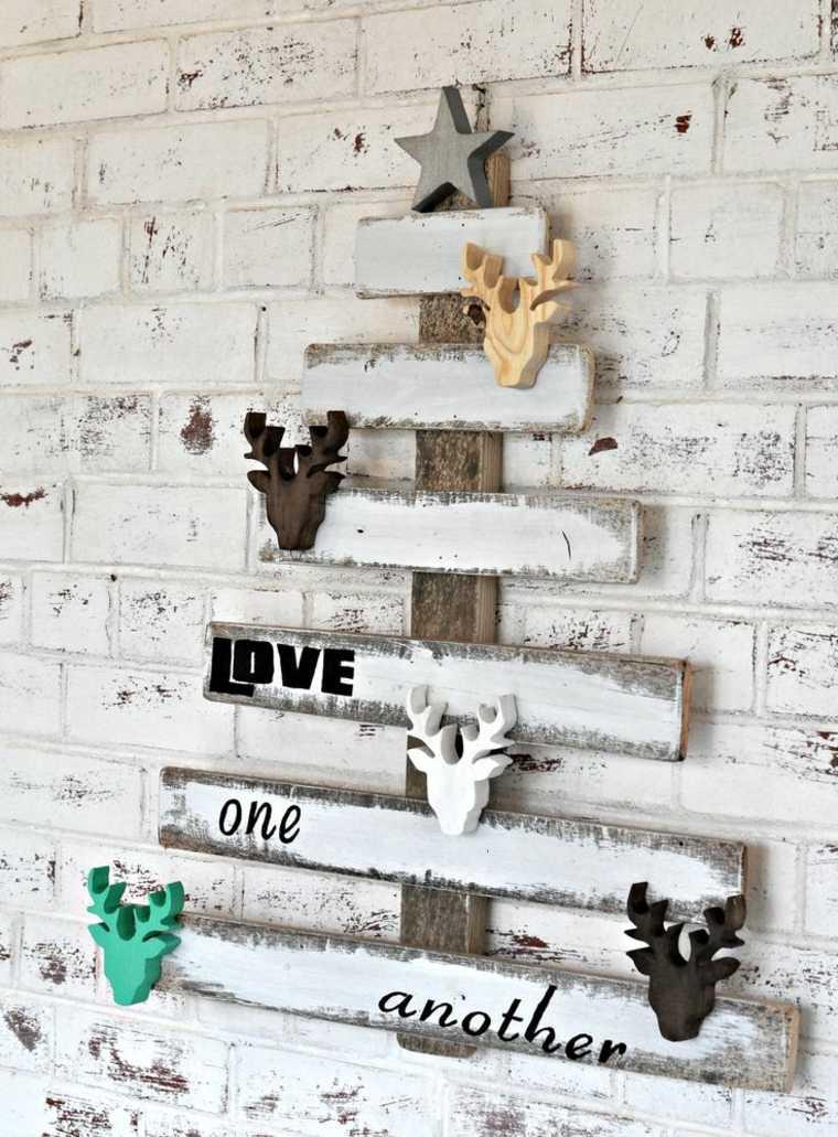abeto pared listones palet madera