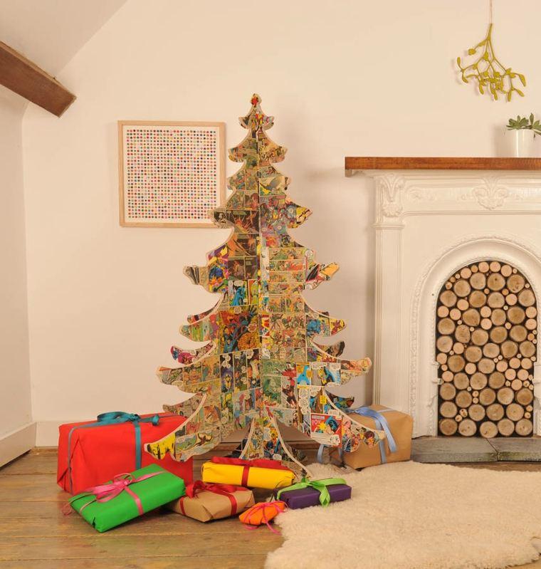 Fotos arboles de navidad modernos