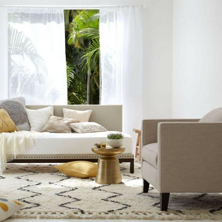 alfombras suelo hogar moderno opciones ideas