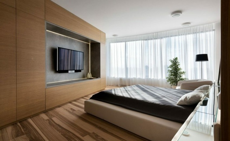 apartamento decoracion diseno minimalista dormitorio minimalista ideas