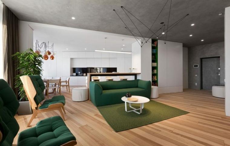 apartamento decoración diseno plano abierto ideas