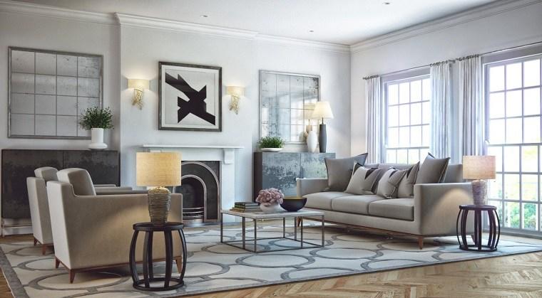 apartamento salon moderno diseno opciones estilo ivan zhurba ideas