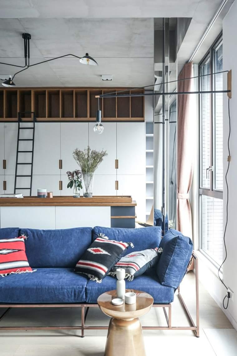 apartamentos espacio contemporaneo efecto lampara