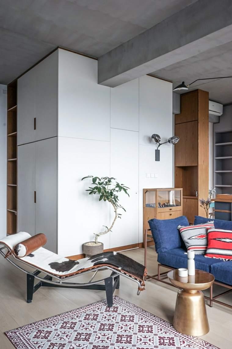 apartamentos espacio metales acabados hormigon