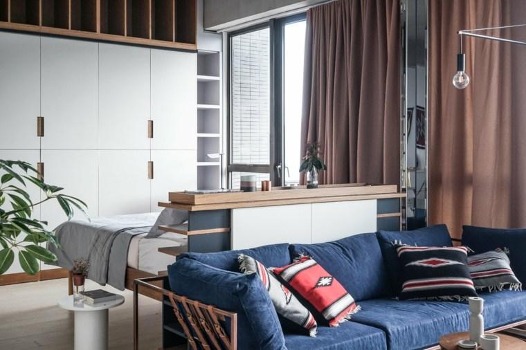 apartamentos espacio naturales cojines muebles