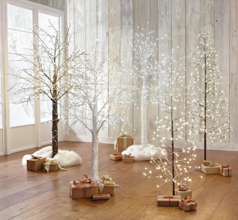 White Twig Christmas Tree