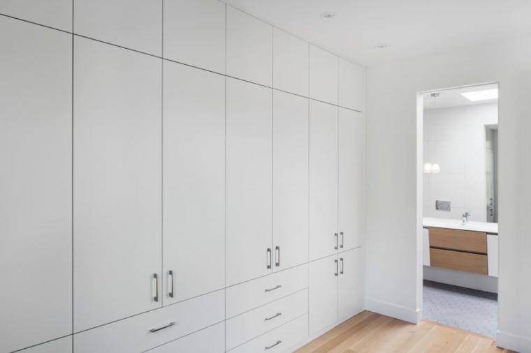 armarios blancos colores muebles transito