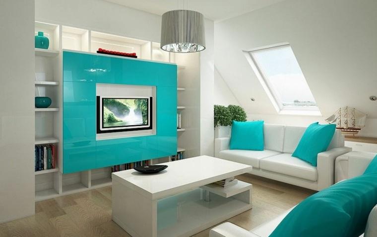 Decoracion De Sala Gris Y Azul Of Azul Aguamarina Para La Decoraci N De Los Interiores