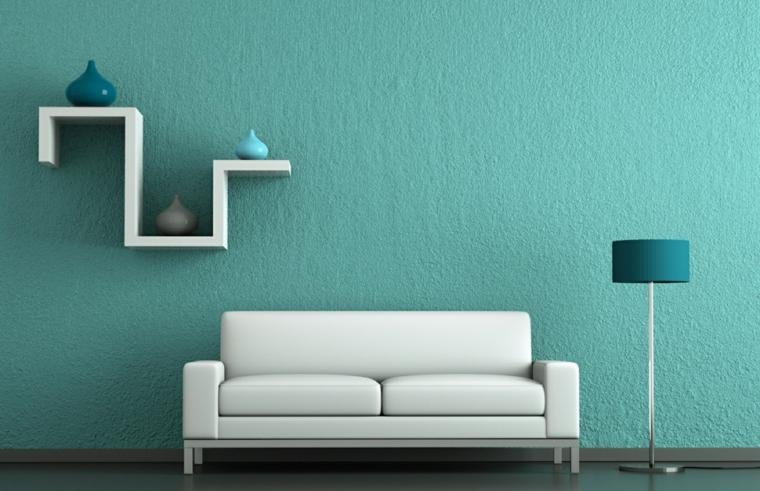 azul aguamarina para la decoraci n de los interiores