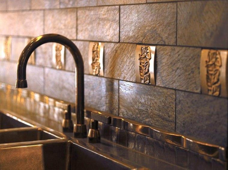 Azulejos de cocina para llenar el interior de modernidad - Azulejos decorativos cocina ...