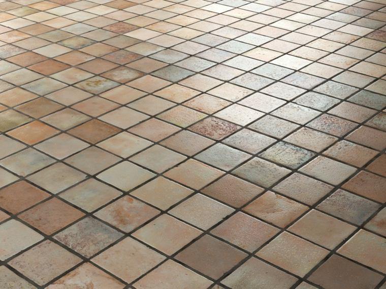 Azulejos r sticos para la decoraci n de los interiores - Azulejos de suelo ...