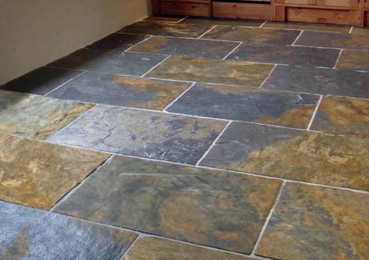 azulejos rsticos decoracin suelo with suelos rusticos para interior