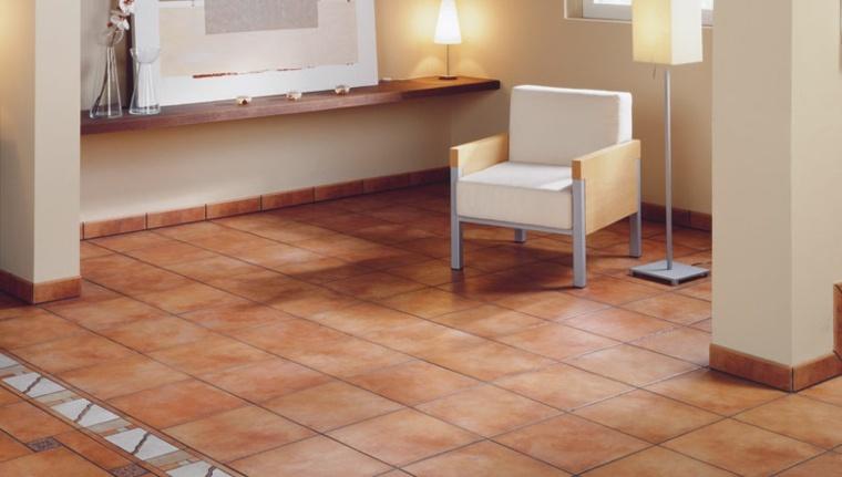 Azulejos r sticos para la decoraci n de los interiores - Azulejos para el suelo ...