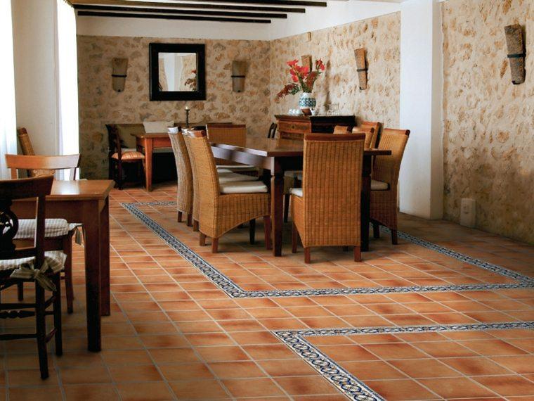 azulejos r sticos para la decoraci n de los interiores