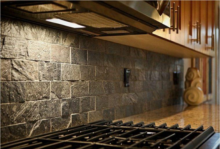 Azulejos r sticos para la decoraci n de los interiores - Fotos de azulejos de cocina ...